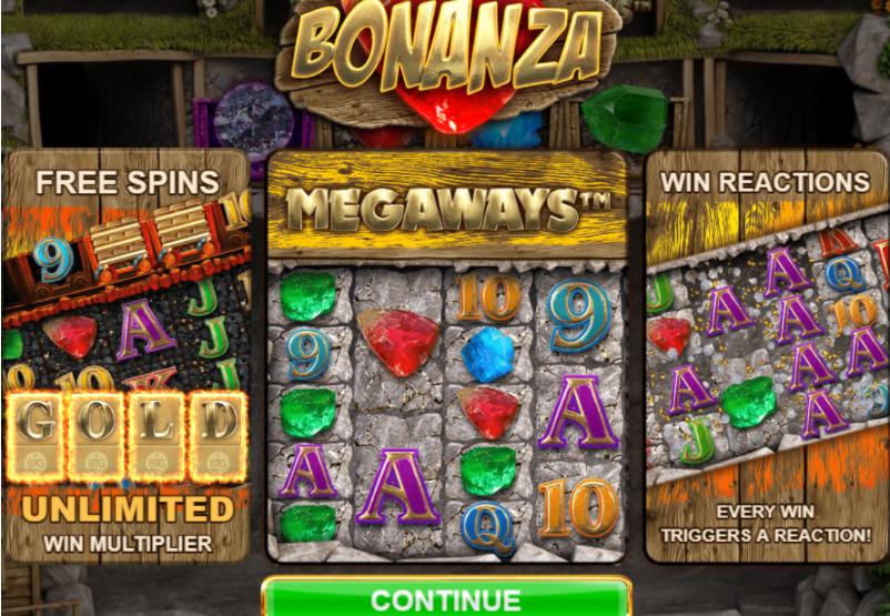 BONANZA online casino slot